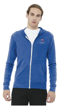 Picture of BELLA+CANVAS Full-Zip Lightweight Hoodie ( BC3939)