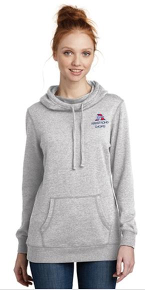 Picture of District ® Women's Lightweight Fleece Hoodie ( DM493 )